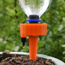 Автоматическая капельная Оросительная Система растительные водонагреватели DIY автоматические капельные водяные шипы конические поливочные растения для цветочных горшков 1 шт