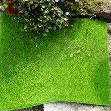 15x15 см Микро-Декорации для ландшафтного дизайна, самодельный коврик мини-Сказочный Сад моделирования Растения мха для декоративный газон зеленая трава