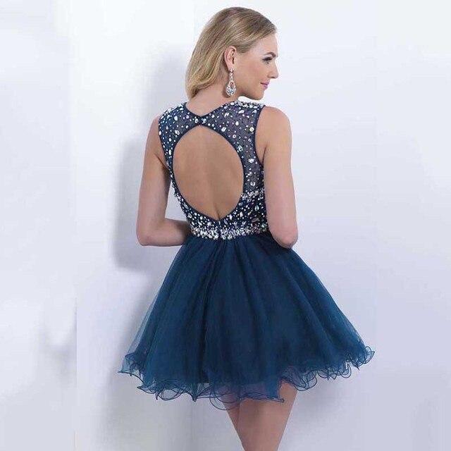 Blue dress dillards 2017