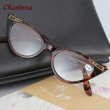 Chashma Brand Designer Optical Eyewear Plastic Reading Glasses Women Cat Eye Black Female +1.5