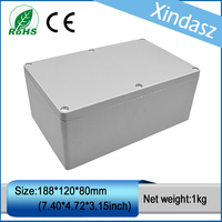 XD FA3 188 120 80mm 7 40 4 72 3 15inch Waterproof Electrical Junction Boxes