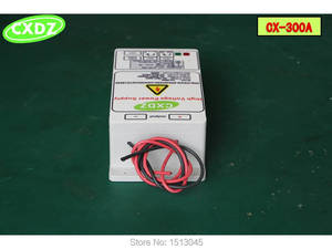 Image 3 - 高電圧電源を除去するための 30KV 出力煙ランプブラック、静電空気清浄機、静電 fleld