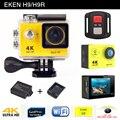 Gopro стиль Действий камеры EKEN H9 H9R спорт камера дистанционного 4 К/25fps Ultra HD Wi-Fi 2.0 ЖК 170D объектив Шлем go pro водонепроницаемый cam