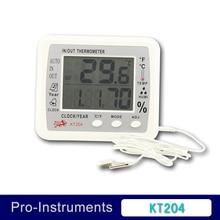 KT204 font b Digital b font font b Thermometer b font Hygrometer for Incubator