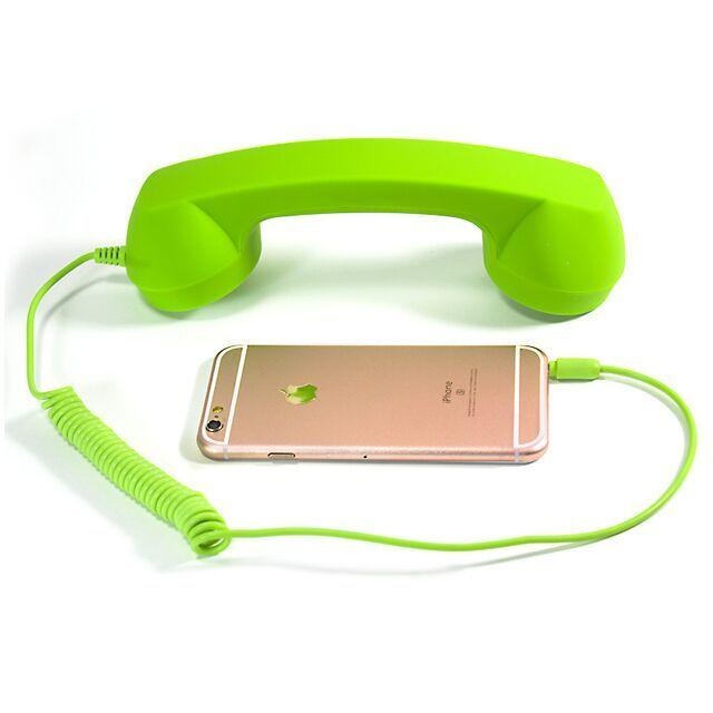 Телефон приемник трубки анти-излучения ретро телефон телефонная трубка PSP принадлежности, новый 3DS всех смартфонов