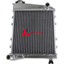 2 ROW CORE FULL ALUMINIUM RADIATOR FOR CLASSIC MINI 1959-1992 HI FLOW  MT1959-91 AUTO Replacement Parts Radiator High Quality