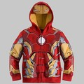 Hot Sale Girls Boys Children Spider Man Clothes 2Y-8Y Baby Kids Boy's Sweatshirt Hoodies The Avengers Jacket Coat Outwear