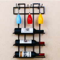 Wine cup rack wine shelf wall mount goblet shelf kitchen living room creative glass cup holder red wine cup rack wx7161509