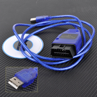 VAG COM 409 1 OBD2 USB KKL Cable Diagnostic Scanner VCD Software Windows 98SE ME 2000