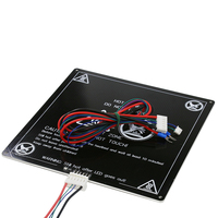 Anet E12 MK3 300*300*3MM 3d printer heated bed 300x300mm Aluminum heatbed with line Upgraded MK3 for RepRap i3 3d printer parts