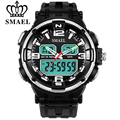 SMAEL New Fashion Clock Watch Men S Style Waterproof Sports Military Watches Shock Men's Luxury Analog Quartz Digital WristWatch