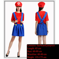 Super Mary dress, adult Mario cartoon, wearing pants, Louis pants, Louis, Mary women's basketball team, red suspenders, costume