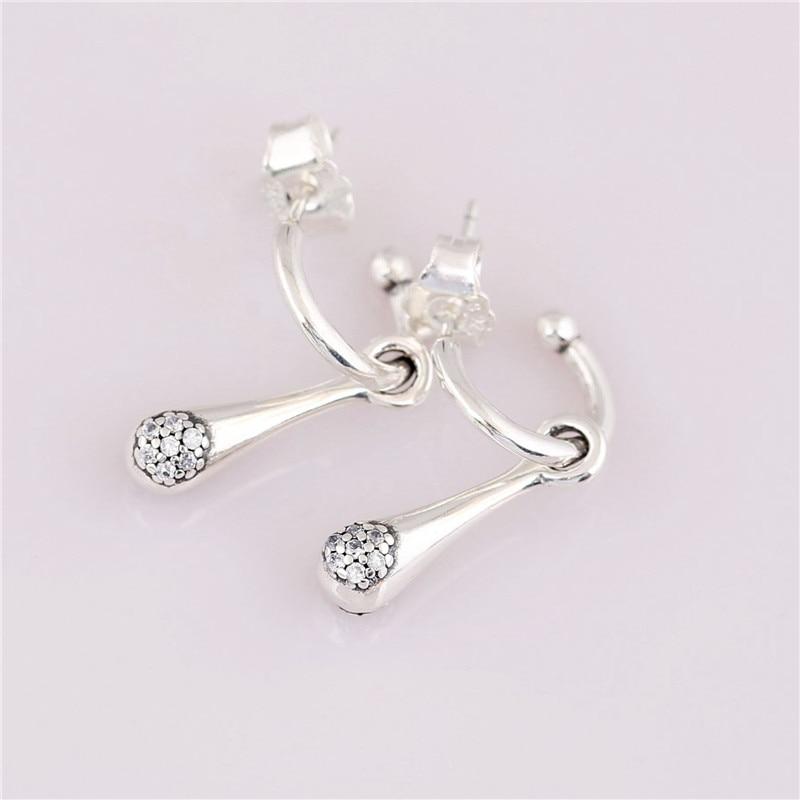 Fashion New 925 Sterling Silver Branded Earrings For Women Modern Lovepods Earring Studs Lady Fine Original Europe Jewelry Gift in Stud Earrings from Jewelry Accessories