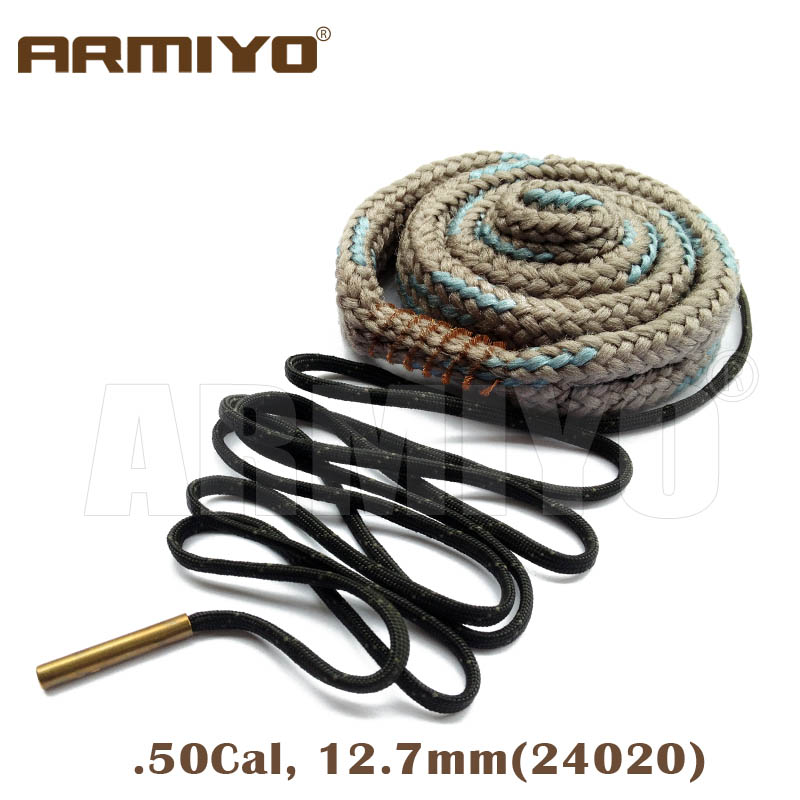 Armiyo Bore Snake .50, .54 Cal 12.7mm Rifle Barrel Cleaner 24020 Hunting Shooting Cleaning Accessories Bagged Package