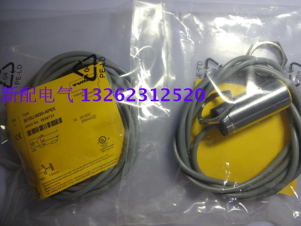 BI15U-M30-AP6X BI15U-M30-AN6X  Turck  New High-Quality Proximity Switch Sensor BI15U-M30-AP6X BI15U-M30-AN6X  Turck  New High-Quality Proximity Switch Sensor