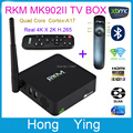 RKM MK902 II 2G /16G Android 4.4 Quad Core RK3288 4k*2k TV BOX Bluetooth Dual Band Wifi RJ45 W/ Antenna + Mini Fly Air Mouse]