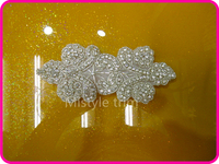 Free Shipping Wholesale Custom Rhinestone Transfer Motif Patch Applique Work Designs