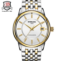 BINKADA Luxury Brand Men Watch Classic Stainless Steel Automatic Self Wind Crystal Dial Mechanical Watches relogio masculino