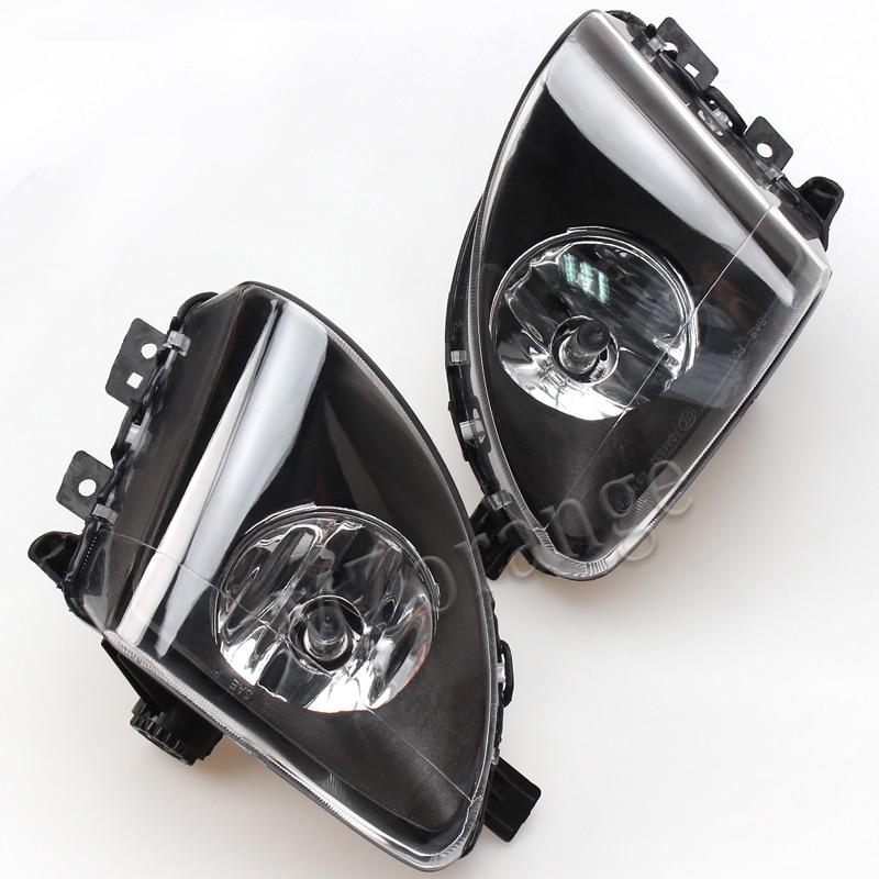 MZORANGE Fog Lights Front Lamps With Bulb High Quality for 2009-2013 BMW F10 F18 5 Series 520li 523li 525li 528li 530li pair new high quality front fog lamp lights driving lamps clear lens car styling for bmw e39 5 series 2001 2003