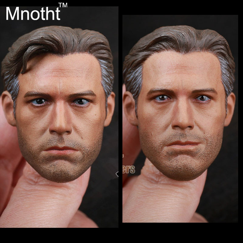 2 Pcs include 1:6 Scale First-rate BVS Batman Vrs Ben Affleck Head Carving for 12 Figure Doll Toys In-stock verossa botanic vrs 1530