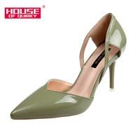 2285257ee0 2019 Spring New Women High Heels Fine With Fashion Suede Shoes Pointed  Shallow Mouth Shoes Outdoor. 2019 Primavera Novas Mulheres sapatos de Salto  Alto ...