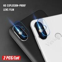 Lote de vidrio templado para cámara de Xiaomi Mi A2 8 Lite 6X Pocophone F1, para Redmi Note 10 pro max 5 6 Pro 6 Pro 6A
