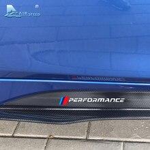 Airspeed autocollants latéraux de voiture en Fiber de carbone 5D, autocollants latéraux de voiture, 225CM, pour BMW F25 F26 F48 E84 F15 F16 E70 E71