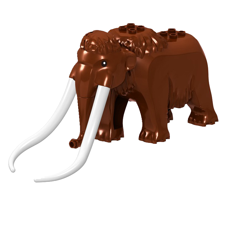 Legoing Hewan Dinosaurus Tiger Leopard Beruang Kutub Gajah Shark Black Unta Bangunan Blok Mainan untuk Anak-anak Hewan Legoing