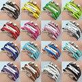 Ajojewel promoção one direction moda multicolor multi-camada dupla coração do amor charme pulseiras de couro para mulheres e homens de lote
