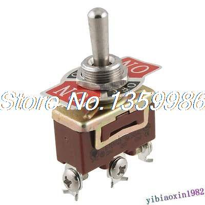 10pcs AC 250V 15A On/Off/On Position SPDT Momentary Toggle Switch худи женские удлиненные
