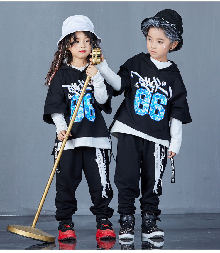 boys hip hop clothing set 1073-6