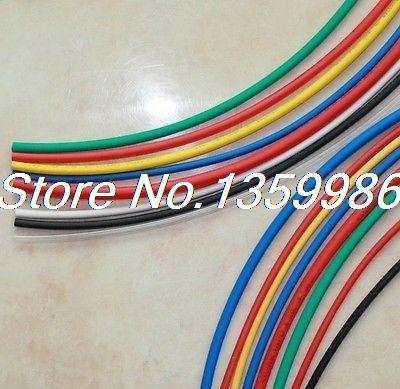 32ft (10m) 2.5mm ID Insulation Heat Shrink Tubing Wire Cable Wrap Multicolor