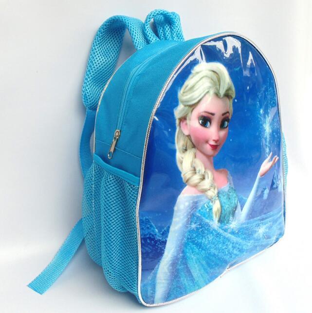 Snow Queen Children School Bags Printing Cartoon Schoolbag Baby Kids Backpack For Girls