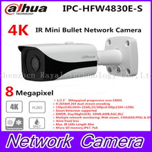 Original Dahua 4K IPC HFW4800E upgraded to IPC HFW4830E S Ultra HD Network Small IR Bullet