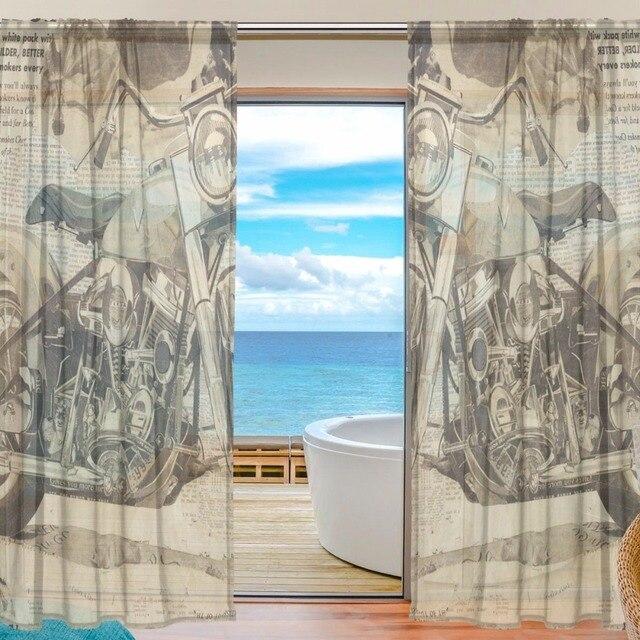 Neue Ankunft Fahrzeug Vorhänge Schlafzimmer Schiere Vorhang für ...