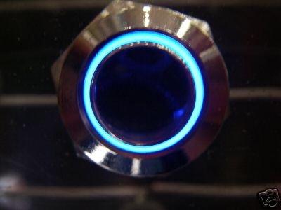 Мгновенный Синий свет SPDT N/C N/O переключатель 12 V B11E 10