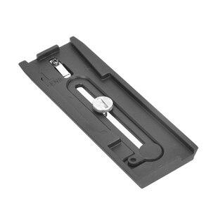 Image 4 - Benro QR13 plaque de fixation rapide aluminium professionnel QR13 plaque pour Benro S8 BV4 BV6 BV8 BV10 tête vidéo livraison gratuite