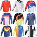 9 color nueva Troy Lee Mx Offroad Alta Calidad Jersey de Aire Starburst Mx Motocicleta de La Largo-manga de la Camiseta personalizable S M L XL XXL