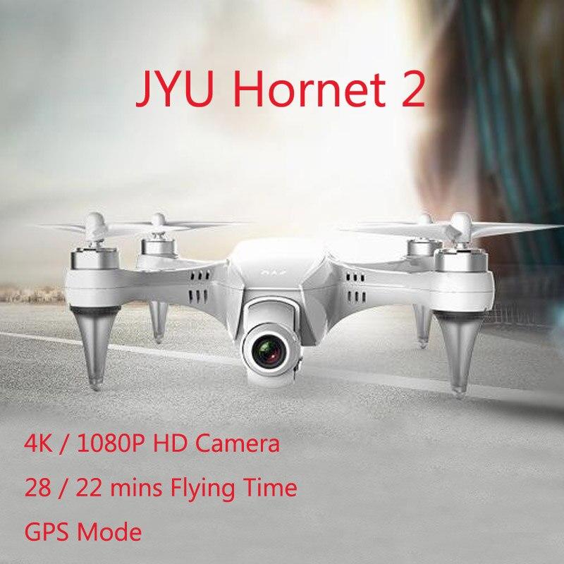 JYU Hornet 2 Racing 5.8G FPV w/ 4K 1080P HD Camera Standard Version 3 Axis Gimbal RC Quadcopter Left Hand RTF