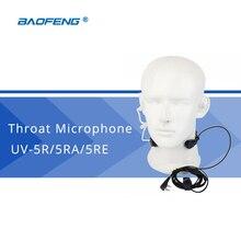 Baofeng Интимные аксессуары PTT Горло микрофон MIC Динамик для Baofeng UV-5R UV-5RE UV-82 Универсальный Портативная рация наушники