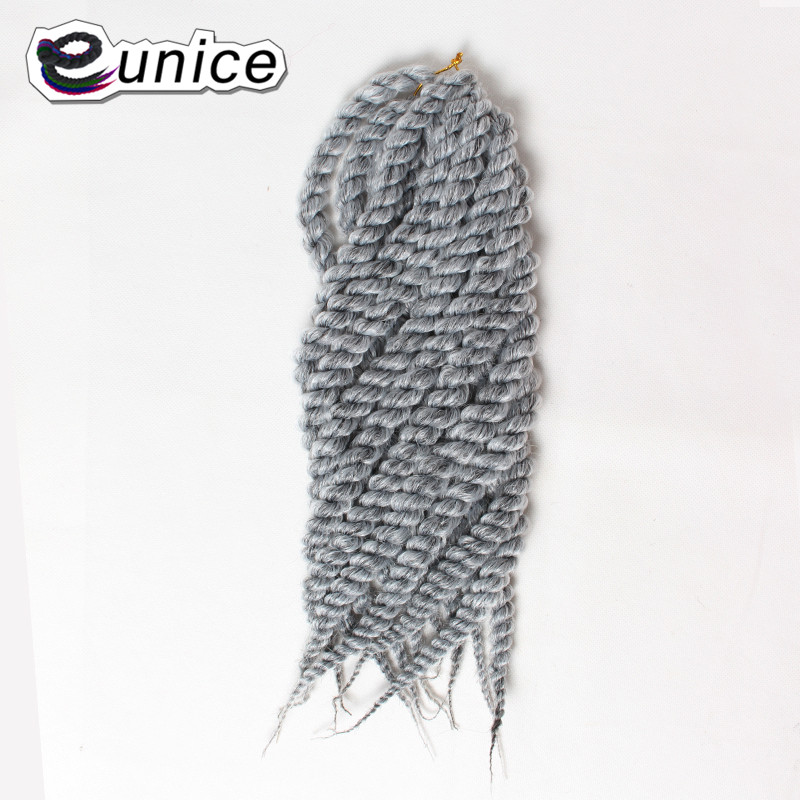 "18""Havana Mambo Senegalese Freetress Twist Hair Extensions Kanekalon Synthetic Braids Hair Havana Twist Crochet braiding hair"