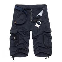 Camo Military Shorts Bermuda 2016 Summer Camouflage Cargo Shorts Men Cotton Loose Outdoor Tactical Short Pants