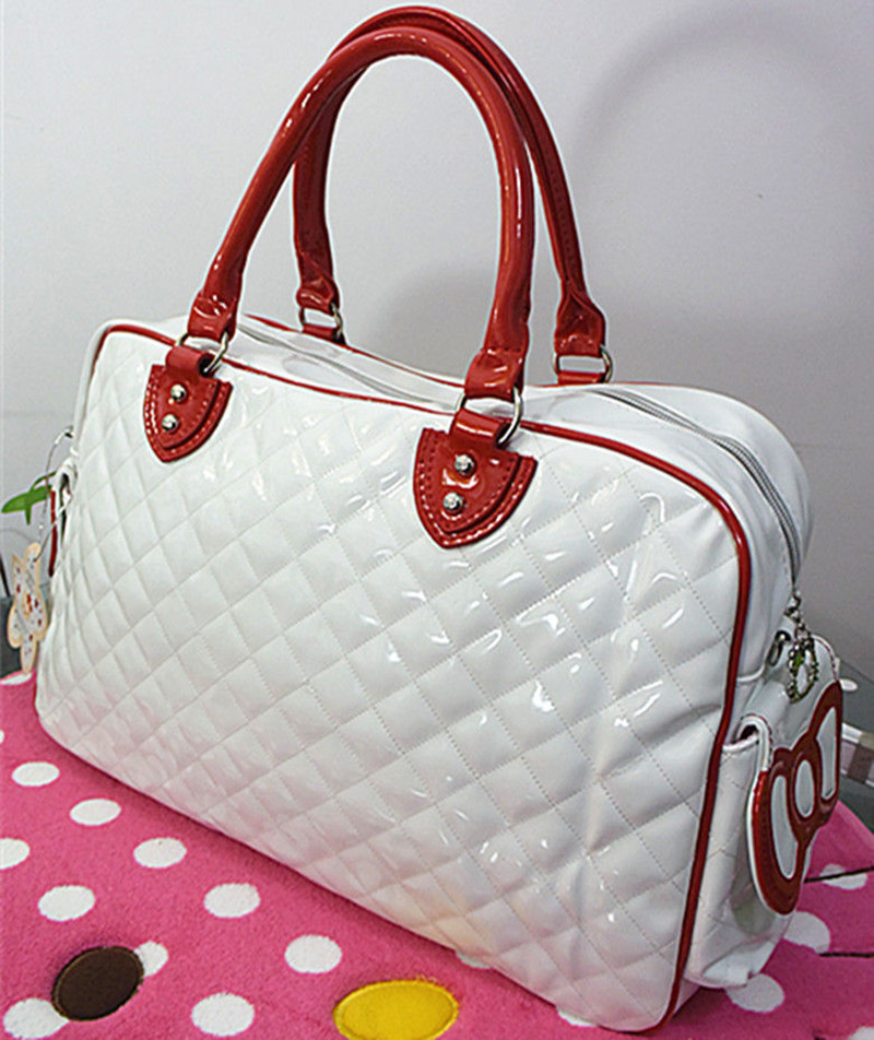 New Hello kitty Large Handbag purse Travel Shopping Tote Bag CC-2089. 01 02  03 04 ... 3c70ecca03a5a