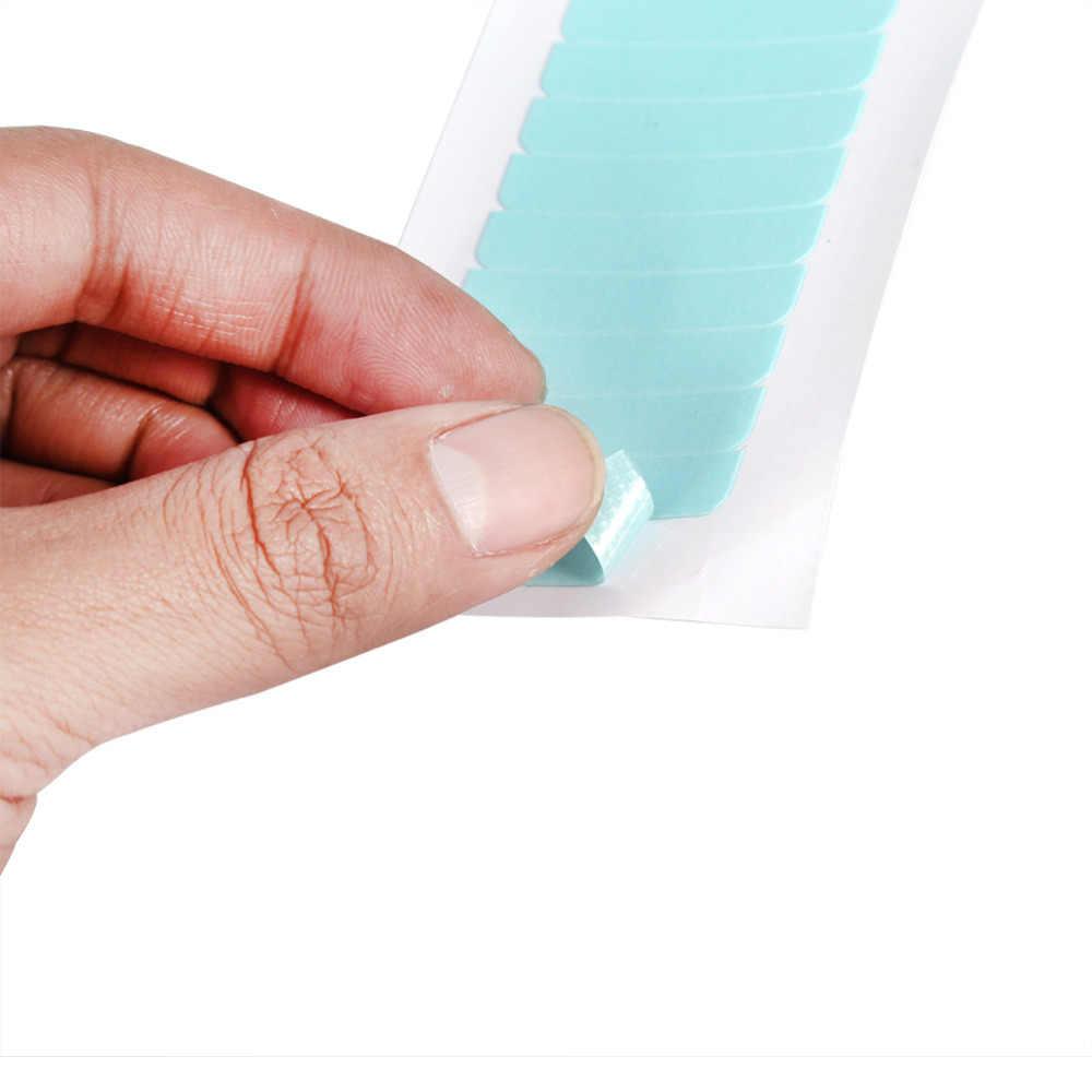 60 шт./пакет кожи уток волос клей двухсторонний супер лента Tab 2018 синий водостойкий безвредный красота инструмент для наращивания волос