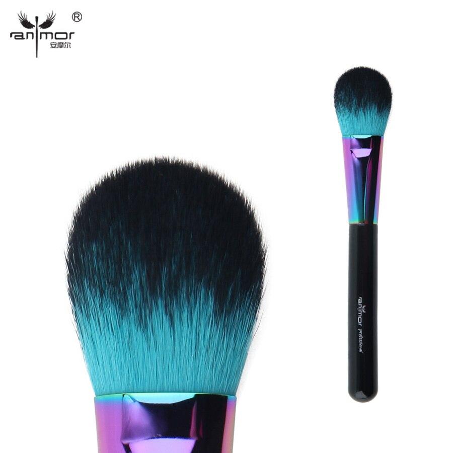 Anmor Colorful Blush Brush Professional Makeup Brushes For Blusher Cosmetics CFCA-A11 artdeco blusher 07 цвет 07 salmon blush