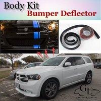 Bumper Lip Deflector Lips For Dodge Durango MK3 2011 2015 Front Spoiler Skirt For TG Friends