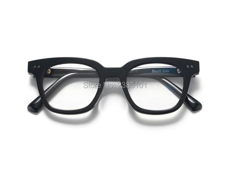 Women men Square Glasses Acetate frame Female Gentle Brand Designer gafas De Sol Spectacle Glasses Gafas