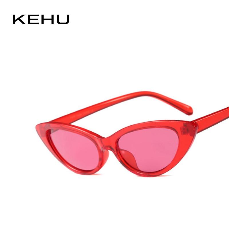 KEHU Ladies CatEye Fashion Sunglasses All-In-One Frame Design Party Fashion Eyeglasses Designer Brand Design Glasses UV400 K9477