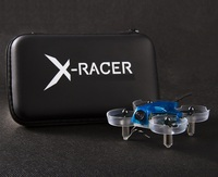 X Racer X 1 V2 BNF with Two Batteries Agile safe fun ultra micro FPV drone designed for indoor fly in even the smallest of place