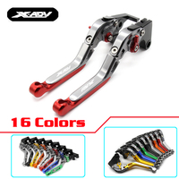 16 Color Motorcycle Top CNC Adjustable Extendable Brake Clutch Levers For Honda XADV 750 X ADV